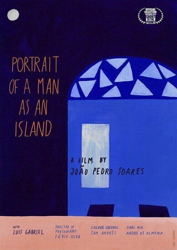 poster de Retrato de um homem enquanto ilha.