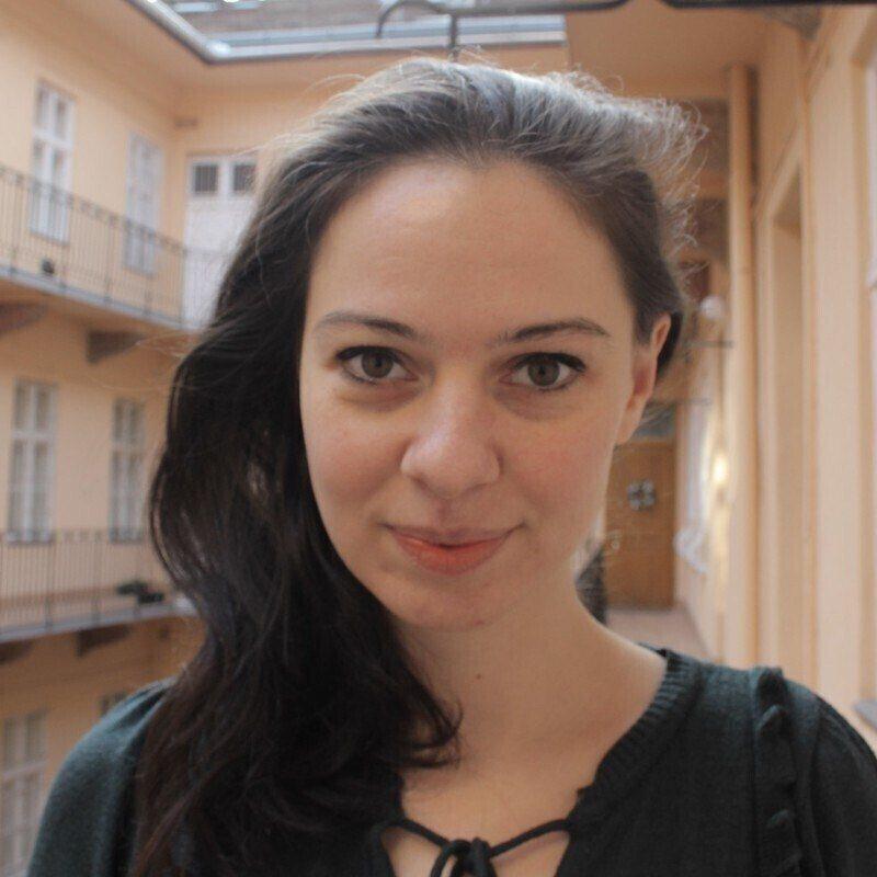 Retrato de Anna Gyimesi