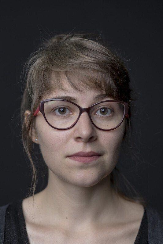 Retrato de Chloé Galibert-Laîné