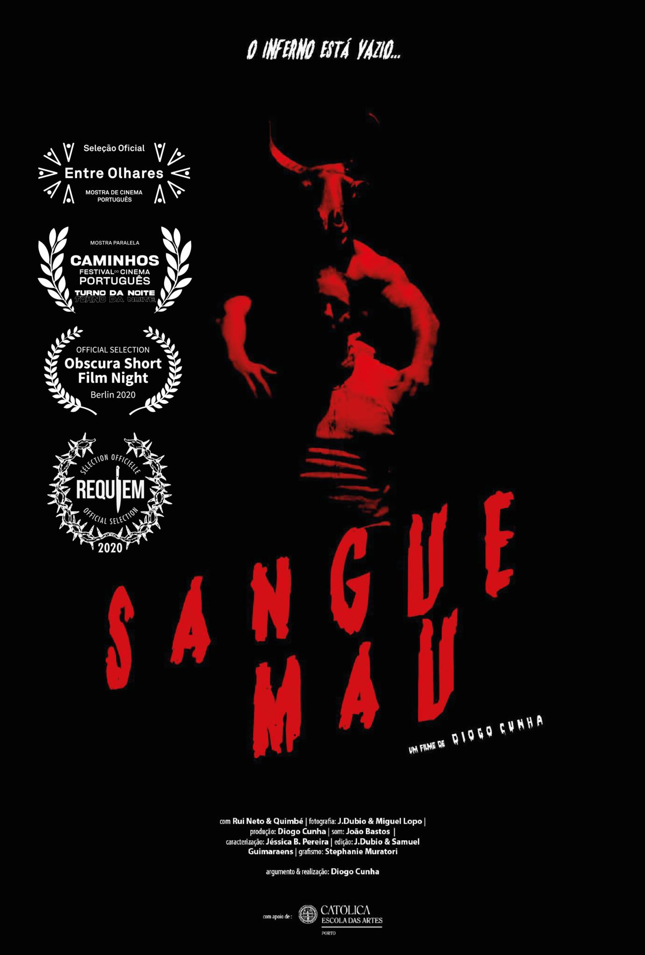 poster de Sangue Mau