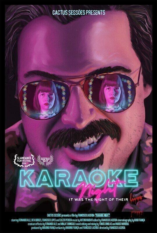 poster de Karaoke Night