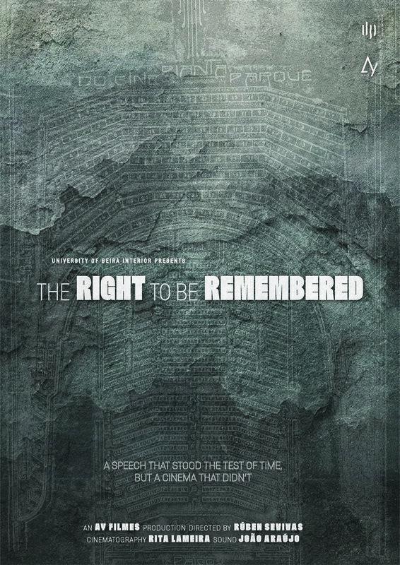 poster de Direito à Memória