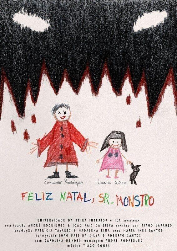 poster de Feliz Natal, Sr. Monstro